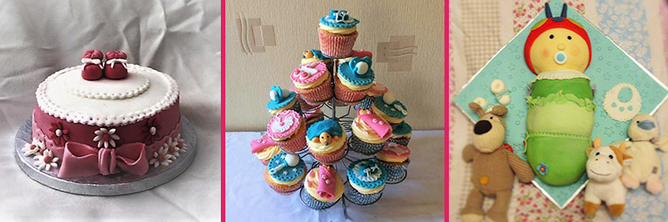 baby shower cakes bournemouth