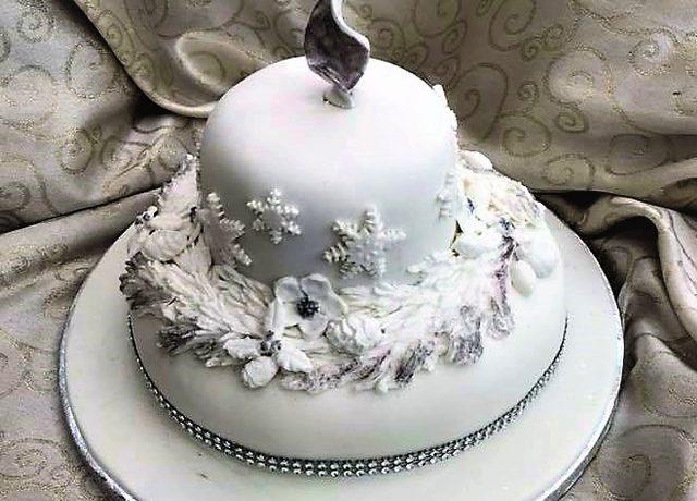 Christmas Cake Sweet Indulgent Fancies