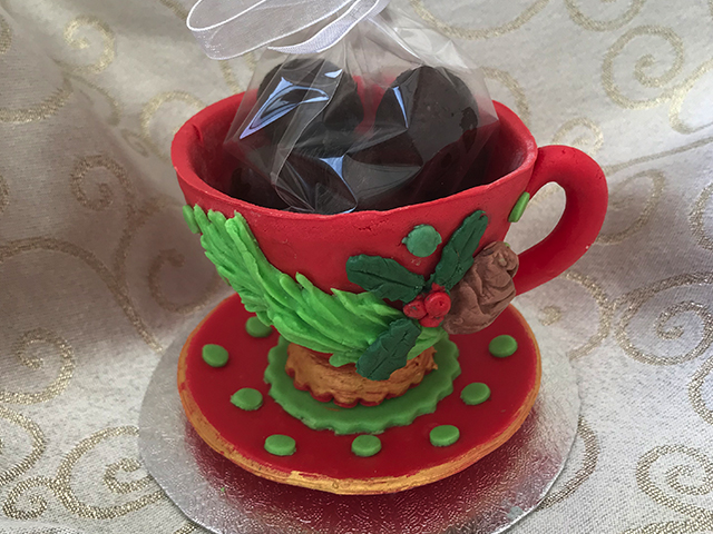 Cup with Truffles