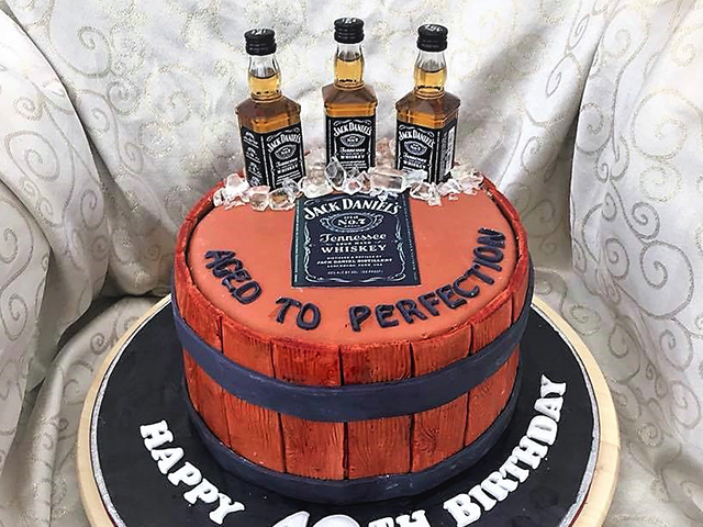 JD Birthday Cake